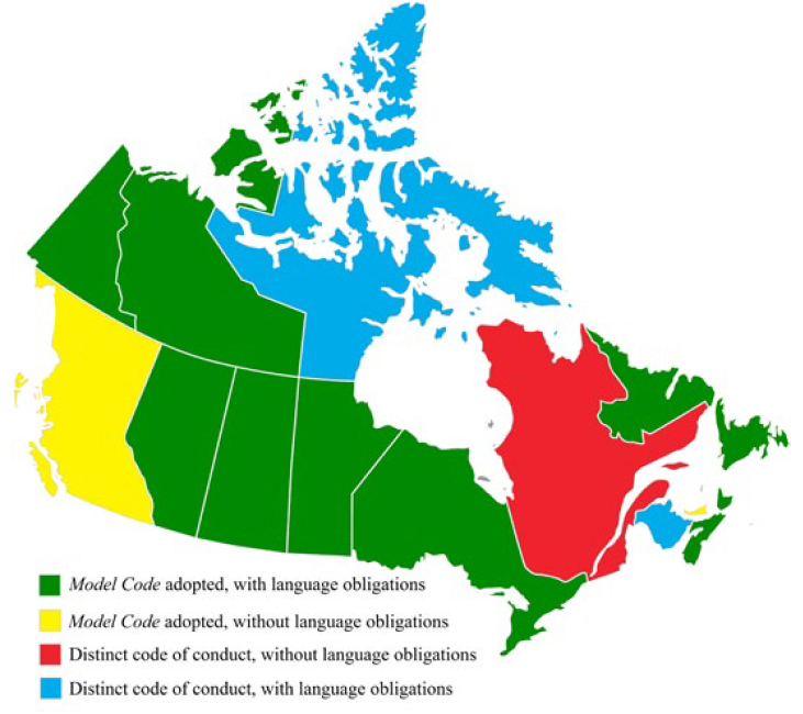 Map Of Canada Languages.Newsletter No 14 Summer2016 Justice In Official Languages