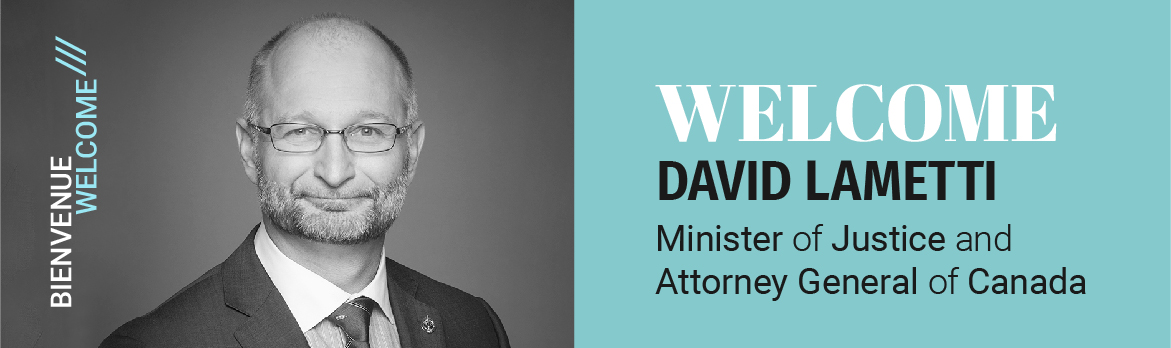 Welcome back to the Honourable David Lametti, Minister of Justice and Attorney General of Canada