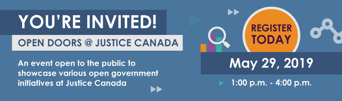 On May 29, 2019, we're opening our doors to the public to showcase our Open Government initiatives. RSVP today!